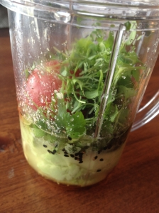 Tomato and Herb Avocado Dressing
